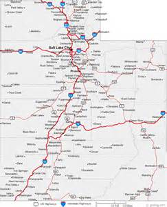 A Map Of Utah by Road Map Of Utah Images