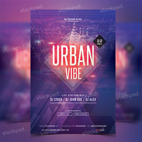 template flyer free party free party flyer archives stockpsd net free psd flyers