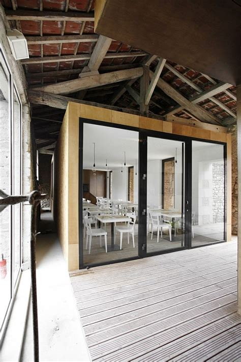 barn renovation transforming into simple trendy