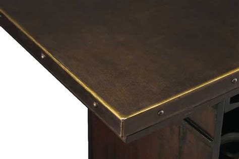 Bar Top Trim by 693030 Rustic Hardwood Wine And Bar Console Furnishings