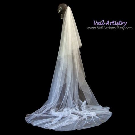 Handmade Veil - wedding veil radiance veil royal cathedral veil 2