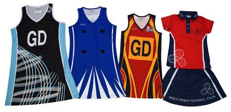 design jersey netball home impact sports