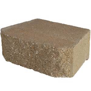 home depot retaining wall pavestone 12 in x 7 in retaining sd wall block 81175