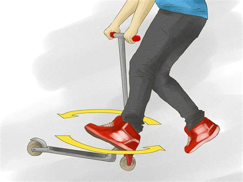 how to a tricks how to do beginner kick scooter tricks 11 steps with pictures