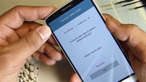 factory reset lg g3 how to hard reset lg g3 the correct way youtube