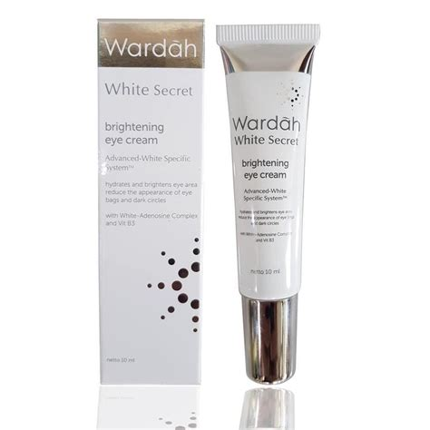 Harga Wardah White Secret Brightening jual wardah white secret brightening eye 10ml di