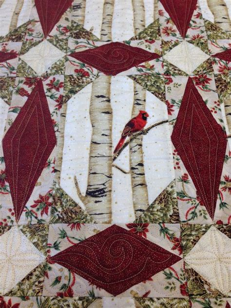 nature quilt pattern natures embrace christmas quilt kit pattern by by