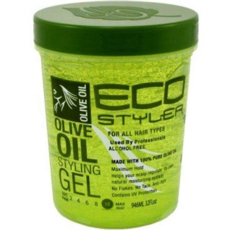 styling gel eco ecoco eco style gel olive 32 oz pack of 4 walmart com