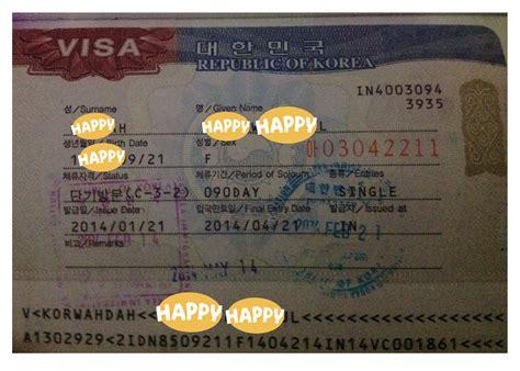 cara membuat visa turis ke korea selatan cara mengurus visa ke korea selatan di luar jakarta