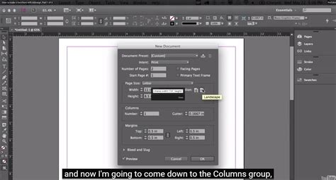 indesign tutorials for beginners free adobe indesign cc for beginners how to make a brochure