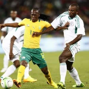 Sunday Mba Mansion by Nwafor Earns Nigeria An Easy Win Bafana