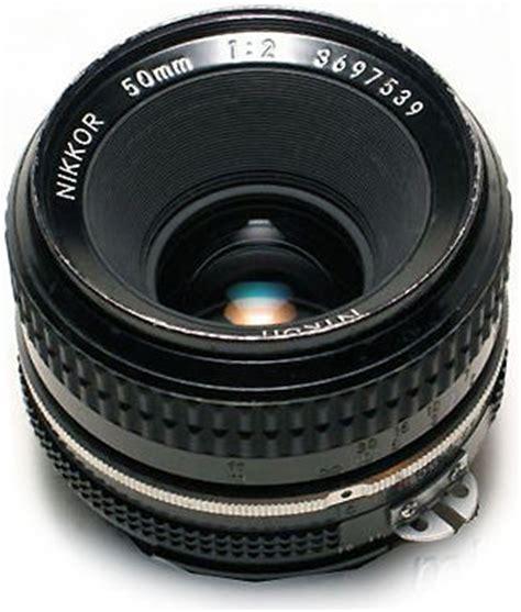 nikkor 50mm f/2.0 and series e 50mm f/1.8s standard lenses