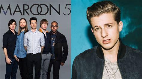 charlie puth maroon 5 gaon chart 2017 beri penghargaan internasional buat