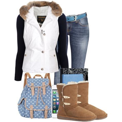 trendy school polyvore outfits  copy  winter