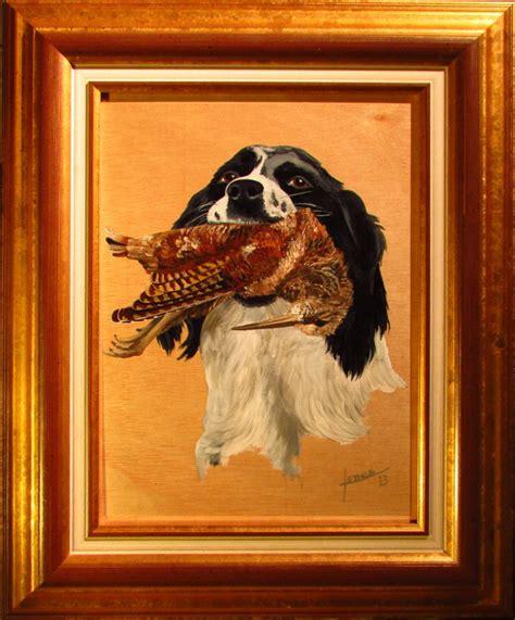 cuadros de caza pintura perro de caza jorge jones