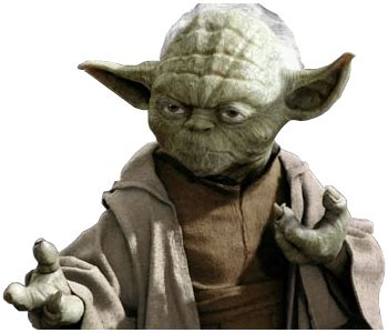 yoda ready  fight star wars transparent png