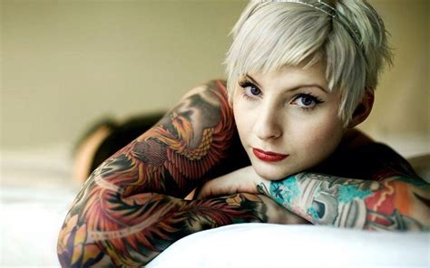 blonde tattoo wallpapers 2560x1600 tattoos