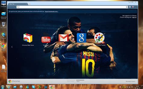 Themes Google Chrome Barcelona | fc barcelona chrome theme by sasomkd on deviantart