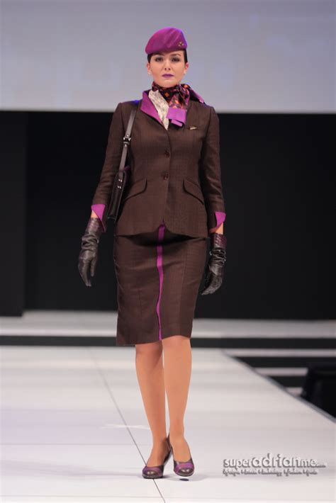 cabin manager new etihad airways uniforms are chic and