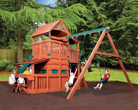 titan treehouse jumbo 4 backyard structurestexas