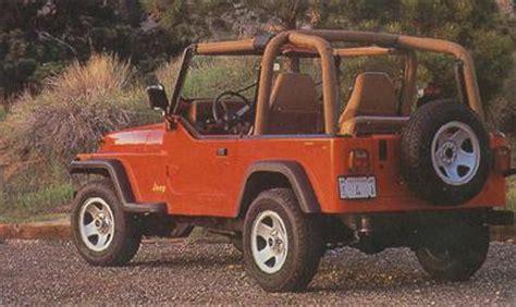 1995 Jeep Wrangler Review 1995 Jeep Wrangler Review