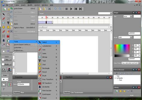 tutorial desain website dengan joomla membuat animasi dengan vectorian giotto tutorial web