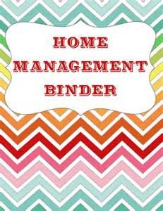 home management binder templates free let s get organized home management binder free
