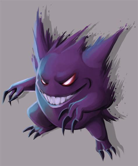 gengar by causeimdanjones on deviantart