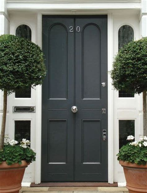 Exterior Door Uk Grey Edwardian Front Door Exterior House Colors The O Jays Grey And Doors
