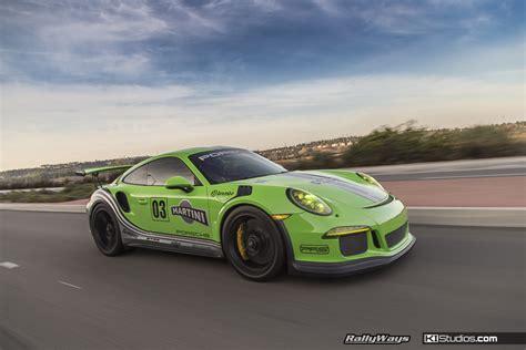 porsche 911 gt3 rs green green porsche 991 gt3 rs ki studios