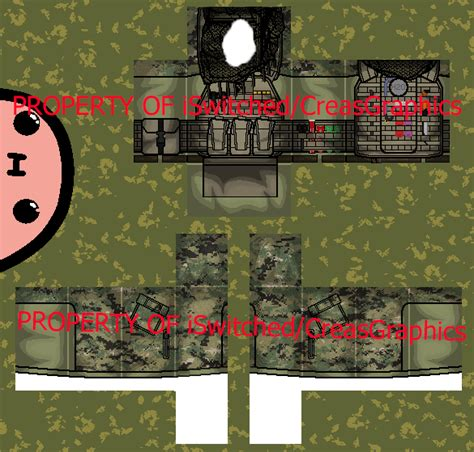 military uniform templates for photoshop roblox military uniform 1 example top by creasgraphics