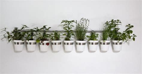 wall planters indoor ikea ikea cutlery caddy used as a planter outdoor