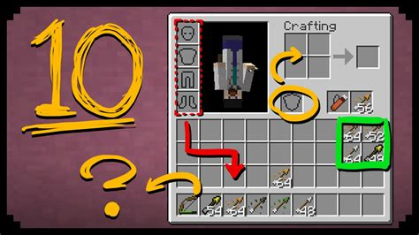 Minecraft Ps4 10 Things You Might Not Know 1 Tutorial - minecraft 10 things you didn t know about the inventory