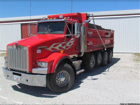 kenworth t800 trucks for sale 2005 kenworth t800 dump trucks for sale 16 used trucks