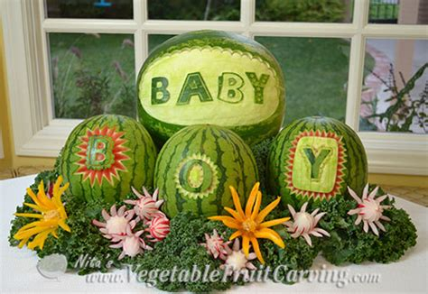 Baby Shower Fruit Carving by Baby Shower Fruit Ideas Nita S Fruit Carving