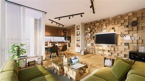 Wohnzimmer Wandgestaltung Beispiele wohnzimmer wandgestaltung 30 beispiele mit 3d effekt