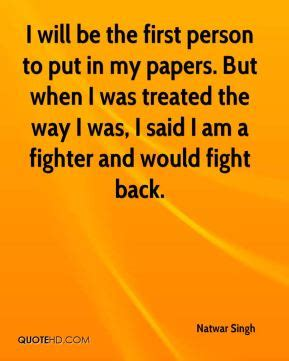 Quotes For Backfighter Person