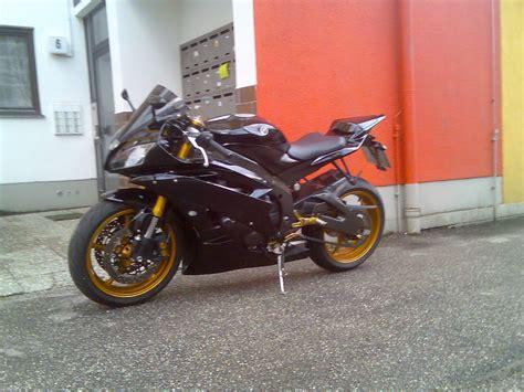 Motorrad Gabel Gold Lackieren suche schwarze rj11 mit goldenen felgen r6 optik