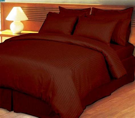 ultra king size bed ultra soft cotton striped coffe king size bed sheet by