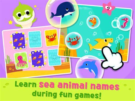 baby shark app app shopper pinkfong baby shark education