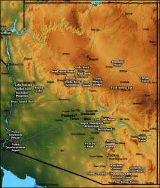 arizona state park map arizona state parks