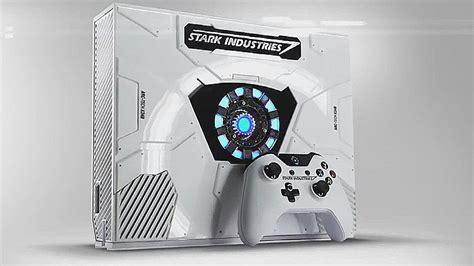 limited edition iron man xbox captain america civil
