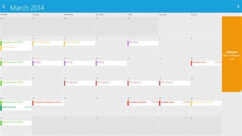 Gmail Calendar Gmail Calendar For Windows 8 And 8 1