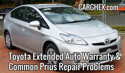 toyota extended warranty cost toyota extended auto warranty common prius repair problems