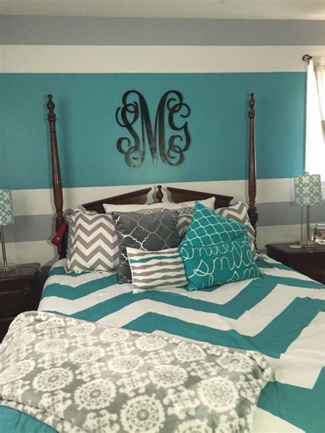 turquoise bedroom accessories turquoise gray and white teen bedroom my daughter