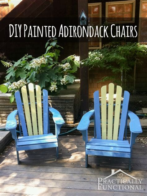 Ideas For Painting Adirondack Chairs by Diy Painted Adirondack Chairs
