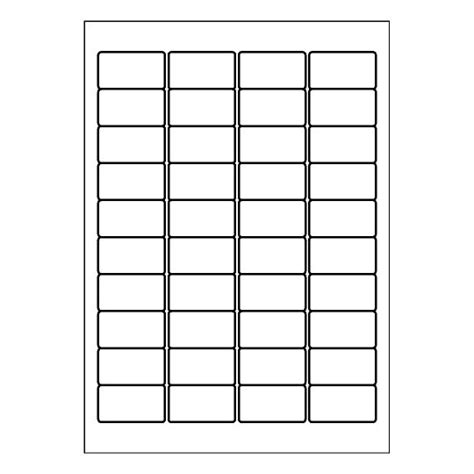 Label Template 40 Per Sheet Printable Label Templates Template Per