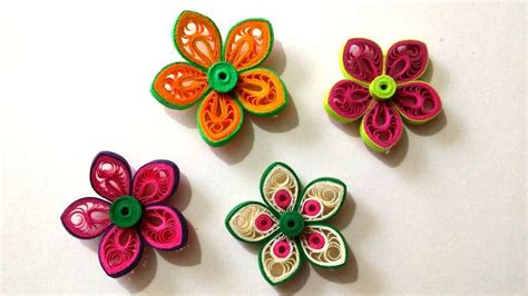 How To Make Paper Quilling Flower - 1000 ideas about quilling flowers tutorial on