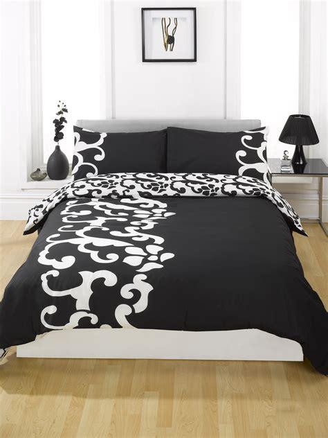 Black Single Duvet Cover duvet quilt cover bedding set black single king kingsize king
