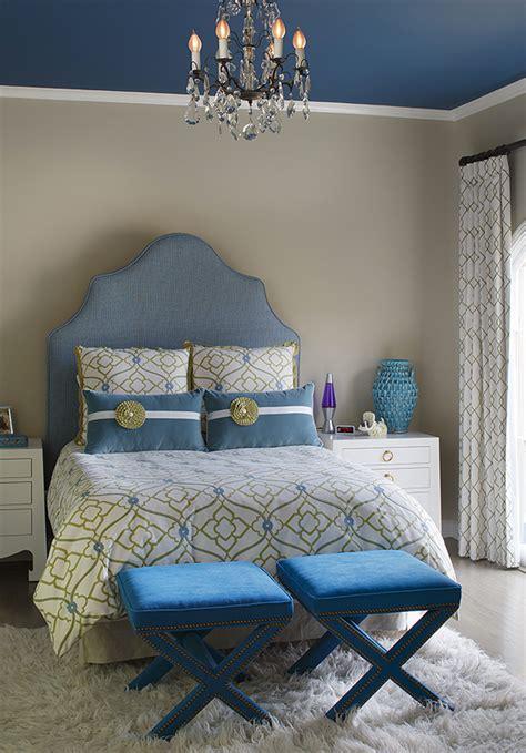 gorgeous blue  gold bedroom designs fit  royalty home design lover